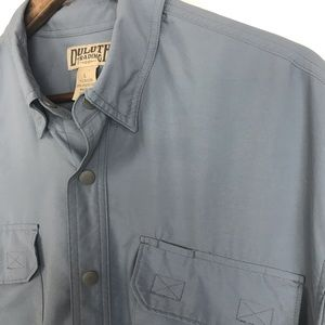 Duluth Trading Co. Mens Snap Button Shirt Sz Large